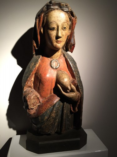 Maria Lactans (Rhine region, XVth century) - Religious Antiques Style Middle age