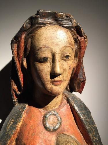 Maria Lactans (Rhine region, XVth century) -
