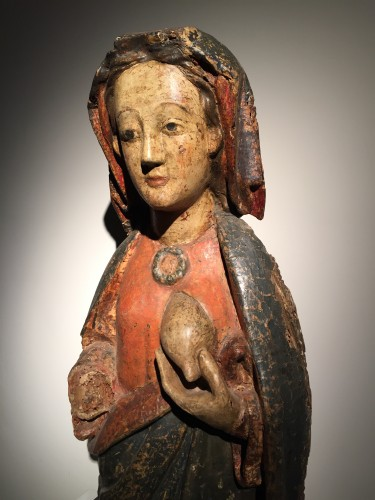16th century - Maria Lactans (Rhine region, XVth century)