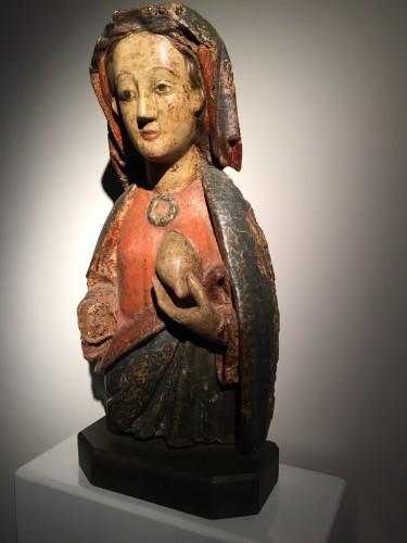 Maria Lactans (Rhine region, XVth century) - Middle age