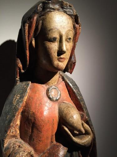 Antiquités - Maria Lactans (Rhine region, XVth century)