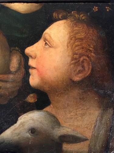 Saint John Baptist as a child with Lamb (Italy, 1500-1525)