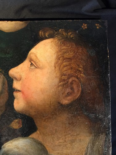 Paintings & Drawings  - Saint John Baptist as a child with Lamb (Italy, 1500-1525)