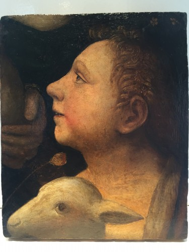 Renaissance - Saint John Baptist as a child with Lamb (Italy, 1500-1525)