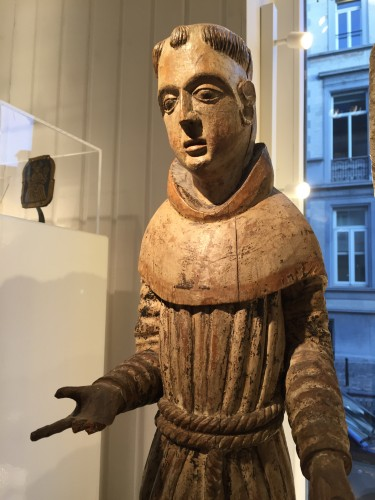 Franciscan Monk (Germany, ca 1500) - Religious Antiques Style Middle age