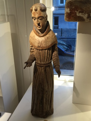 Religious Antiques  - Franciscan Monk (Germany, ca 1500)