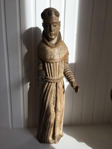 Antiquités - Franciscan Monk (Germany, ca 1500)