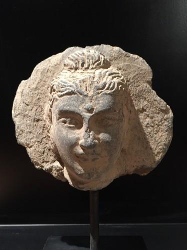 16th century - Head of the Buddha (Gandhara, 2nd-4th century AD)