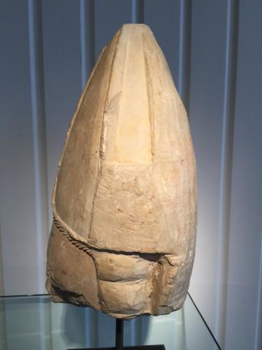16th century - Bischop's head, Central France 14th century