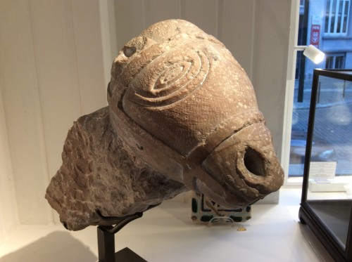 Sculpture  - Horsehead Corbel (Italy, 8th century)