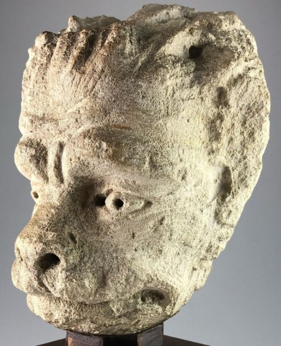 Sculpture  - Head of a Lion, France 15th century
