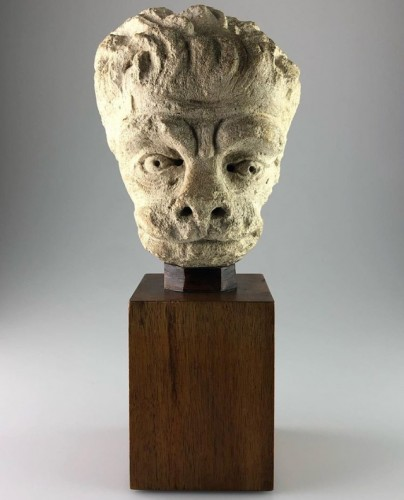 Head of a Lion, France 15th century -