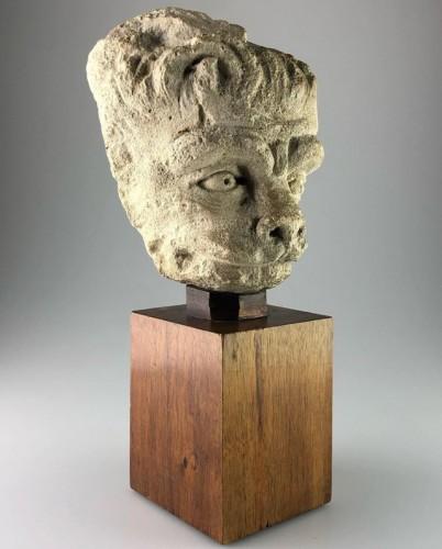 Antiquités - Head of a Lion, France 15th century