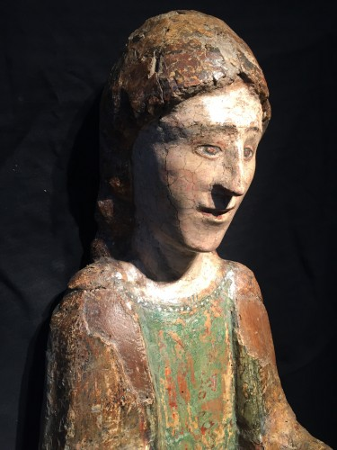 Sculpture  - Young Saint (Italy, Umbria 15th cent)