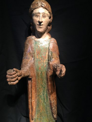 Young Saint (Italy, Umbria 15th cent) - Middle age