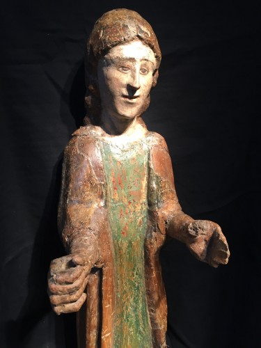 Middle age - Young Saint (Italy, Umbria 15th cent)