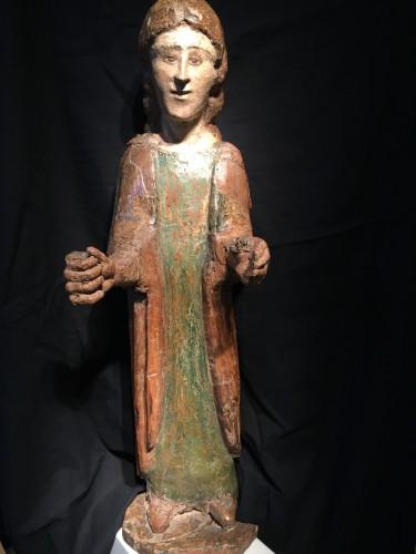 Antiquités - Young Saint (Italy, Umbria 15th cent)