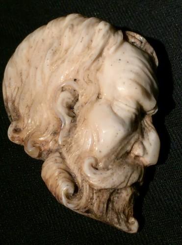 Doublesided Memento Mori (Italy, 18th cent) - Curiosities Style Louis XVI