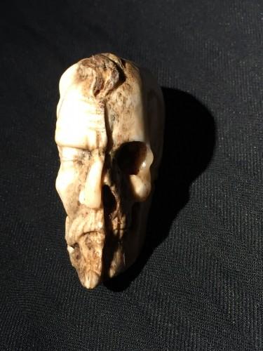 Doublesided Memento Mori (Italy, 18th cent) -