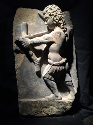 Antiquités - Archer (Gandhara, 2nd-4th cent)