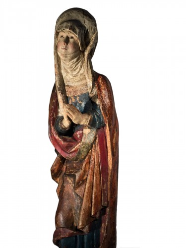Female Saint (Franconia, ca 1500)