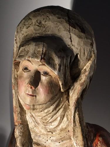 Female Saint (Franconia, ca 1500) - Religious Antiques Style Renaissance