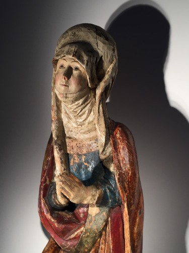Religious Antiques  - Female Saint (Franconia, ca 1500)