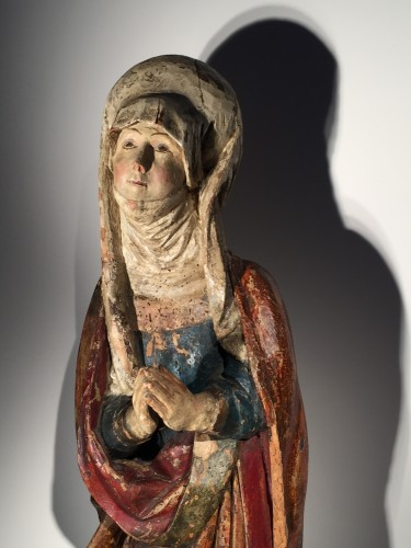 Female Saint (Franconia, ca 1500) - Renaissance