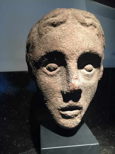 16th century - Head of a Youth (West Britain, 14th century)