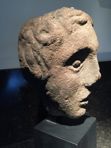 Head of a Youth (West Britain, 14th century) - Middle age