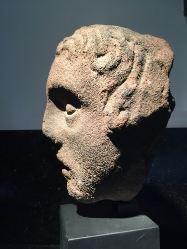 Middle age - Head of a Youth (West Britain, 14th century)