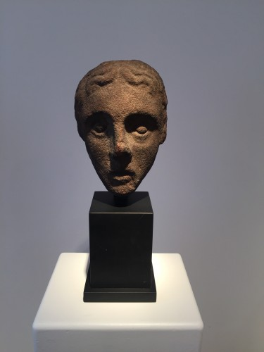 Antiquités - Head of a Youth (West Britain, 14th century)