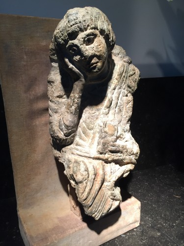 Saint John (France, 12th century) - Religious Antiques Style Middle age