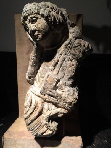 Middle age - Saint John (France, 12th century)