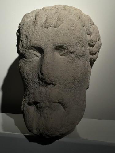 <= 16th century - Bearded head (Germany? 13th century)