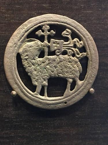 Religious Antiques  - Agnus Dei Roundel (15th cent)