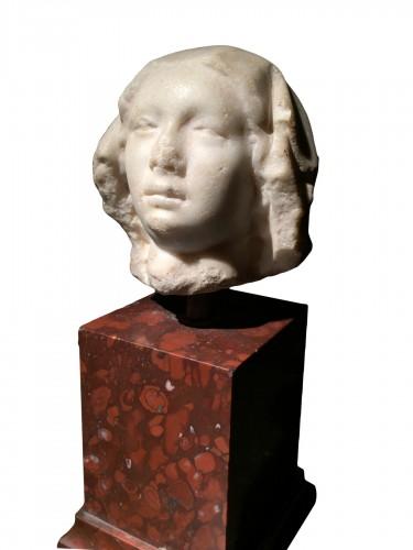 Marble Head, France 14th century
