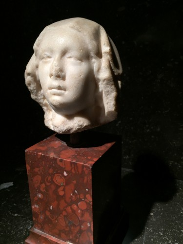 Marble Head, France 14th century - Middle age