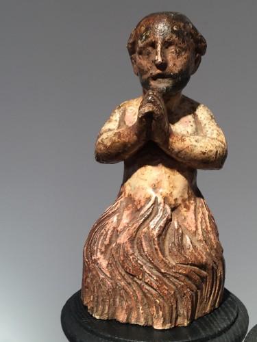 Religious Antiques  - Purgatory (Italy, ca1600)