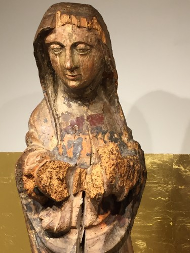 Religious Antiques  - Holy Lady, France 16th century