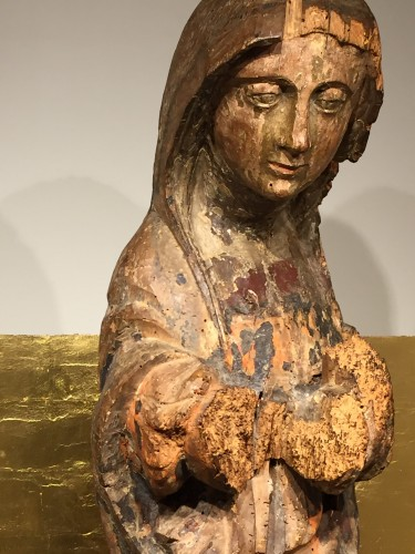 <= 16th century - Holy Lady, France 16th century