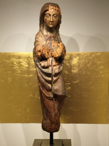 Holy Lady, France 16th century - Middle age