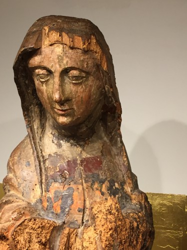 Antiquités - Holy Lady, France 16th century