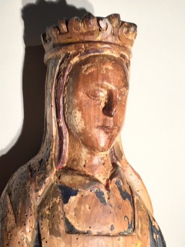 Saint Catherine of Alexandria - France, 16th century - Religious Antiques Style Middle age