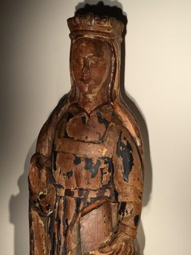 Religious Antiques  - Saint Catherine of Alexandria - France, 16th century