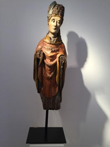 Holy Bishop (Rhine valley, 14th century) -