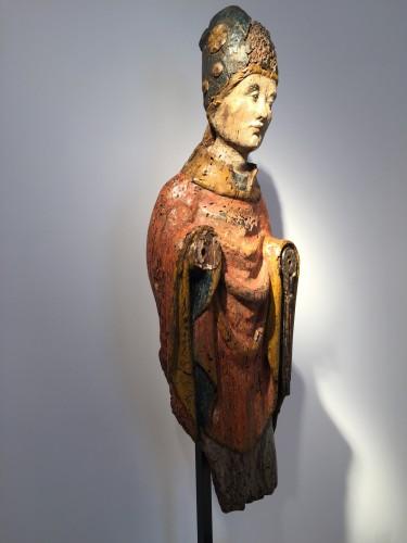 <= 16th century - Holy Bishop (Rhine valley, 14th century)