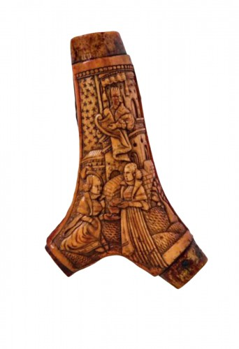 Body of powder horn (Germany, 16th century)
