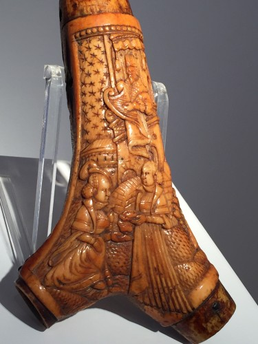 Curiosities  - Body of powder horn (Germany, 16th century)