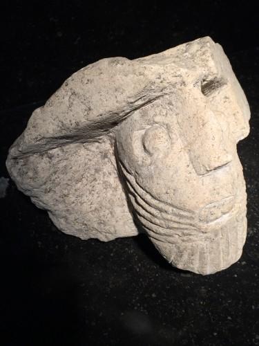 Antiquités - Bearded man (France, 13th cent)